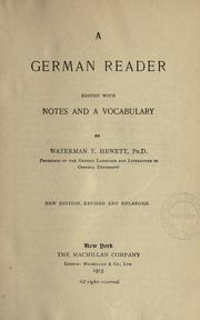 Cover of: A Germman reader