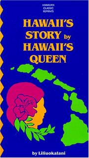 Cover of: Hawaii's Story by Hawaii's Queen