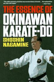 Cover of: The Essence of Okinawan Karate-Do (Shorin-Ryu)
