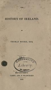 Cover of: The history of Ireland