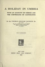 A holiday in Umbria by Jackson, Thomas Graham Sir