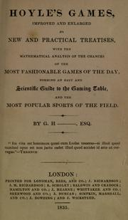 Cover of: Hoyle's games, improved and enlarged by new and practical treatises