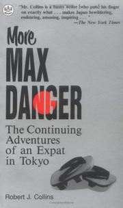 Cover of: More Max Danger | Robert J. Collins