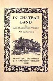 Cover of: In Château Land