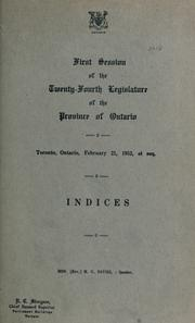 Cover of: Official report of debates (Hansard) : Legislative Assembly of Ontario = | Ontario. Legislative Assembly.