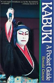 Cover of: Kabuki: A Pocket Guide