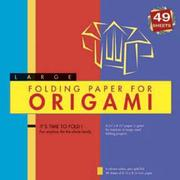 Cover of: Folding Paper for Origami