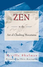 Cover of: Zen in the art of climbing mountains
