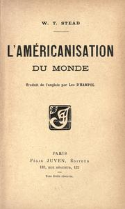 Cover of: L' américanisation du monde
