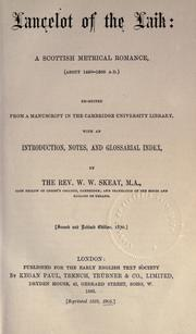 Cover of: Lancelot of the Laik by Lancelot.