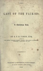 Cover of: The last of the fairies: a Christmas tale