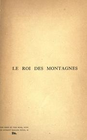Cover of: roi des montagnes. | Edmond About