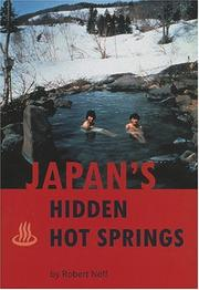 Cover of: Japan's Hidden Hot Springs