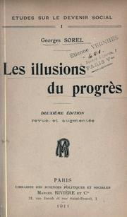 Cover of: Les illusions du progrès