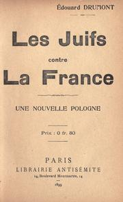 Cover of: Les juifs contre la France