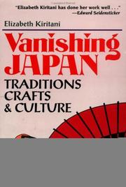 Cover of: Vanishing Japan | Elizabeth Kiritani
