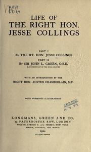 Cover of: Life of the Right Hon. Jesse Collings