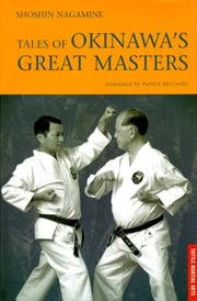 Cover of: Tales of Okinawa's Great Masters (Tuttle Martial Arts)