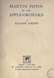 Cover of: Martin Pippin in the Apple Orchard