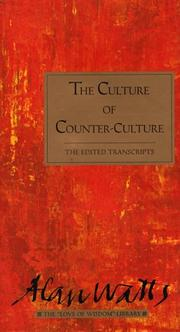 Cover of: culture of counter-culture | Alan Watts
