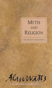 Cover of: Myth and religion | Alan Watts