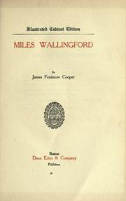 Cover of: Miles Wallingford: sequel to Afloat and ashore