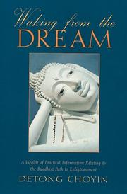 Cover of: Waking from the dream | Detong ChoYin