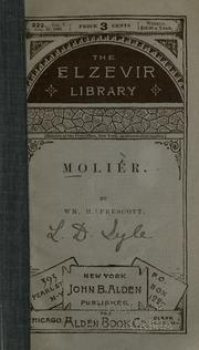 Cover of: Molier