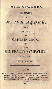 Cover of: Monody on Major Andre