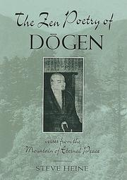 Cover of: The Zen Poetry of Dogen: Verses from the Mountain of Eternal Peace
