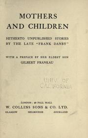 Cover of: Mothers and children