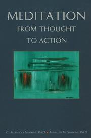 Cover of: Meditation from thought to action