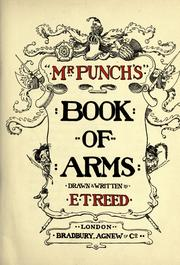 Cover of: Mr. Punchs Book of arms | Edward Tennyson Reed