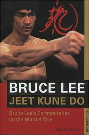 Cover of: Jeet kune do: Bruce Lee's commentaries on the martial way