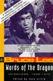 Cover of: Words of the dragon: interviews 1958-1973