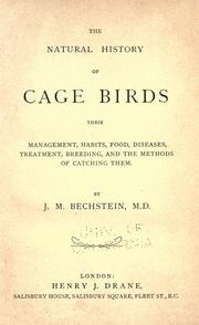 Cover of: The natural history of cage birds
