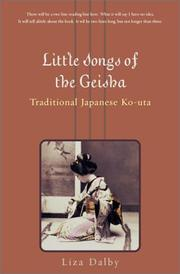 Cover of: Little Songs Of The Geisha