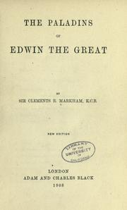 Cover of: The paladins of Edwin the Great