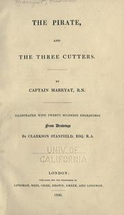 Cover of: The pirate, and The three cutters