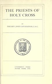 The Priests of Holy Cross.