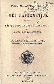 Cover of: Pure mathematics | Edward Atkins
