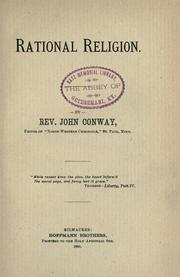 Cover of: Rational religion | John Conway