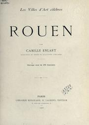 Cover of: Rouen