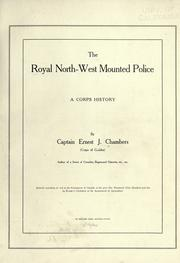 Cover of: The Royal North-west Mounted Police