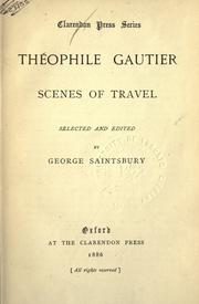 Cover of: Scenes of travel | ThГ©ophile Gautier