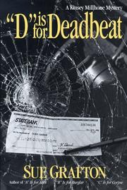 Cover of: D Is for Deadbeat