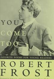 Cover of: You Come Too: Favorite Poems for Young Readers
