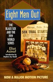 Cover of: Eight Men Out