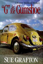 "Cover of: ""G"" is for gumshoe: a Kinsey Millhone mystery"