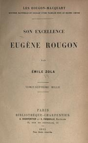 Son Excellence Eugène Rougon by Émile Zola